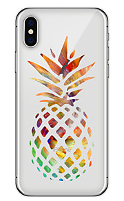 Custodia Per Apple iPhone X iPhone 8 Plus Fantasia/disegno Custodia posteriore Frutta Morbido TPU per iPhone X iPhone 8 Plus iPhone 8