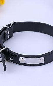 Collar DIY Maker Solid PU Leather
