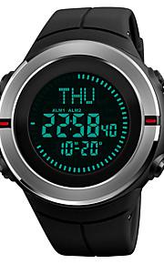 Homens Relógio de Pulso Relogio digital Relógio Esportivo Japanês Digital Alarme Calendário Cronógrafo Impermeável Bússula Cronômetro