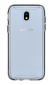 מגן עבור Samsung Galaxy J7 (2017) J5 (2017) עמיד בזעזועים שקוף כיסוי אחורי שקוף קשיח PC ל J7 (2017) J5 (2017)