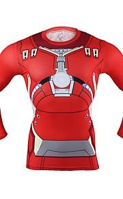 Iron Man Mężczyzna Boże Narodzenie Festiwal/Święto Kostiumy na Halloween Red Jendolity kolor