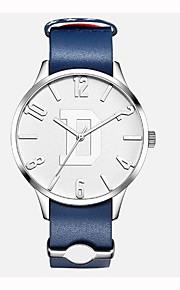 Homens Crianças Relógio de Moda Relógio Elegante Relógio de Pulso Suíço Quartzo Cronógrafo Impermeável Relógio Casual Couro Legitimo Banda