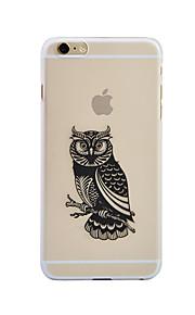 "Custodia Per Apple iPhone 6 Plus Fantasia/disegno Custodia posteriore Fantasia ""Gufo"" Morbido PC per iPhone 6s Plus iPhone 6 Plus"
