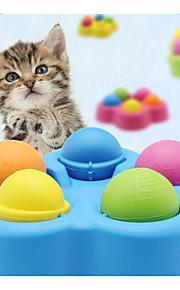 猫のおもちゃペットのおもちゃペットのためのインタラクティブな多機能プラスチック
