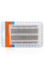 Transparent Middle-Size Breadboard/400 Hole/With Package