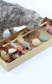 Kot Zabawka dla kota Zabawki dla zwierząt Zabawki interaktywne Stres i niepokój Relief dzwonek dzwoni Myszka Materiał Dla zwierząt