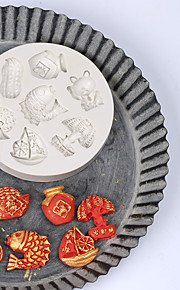 Cake Molds Round For Candy Silica Gel Birthday New Year's Thanksgiving Holiday