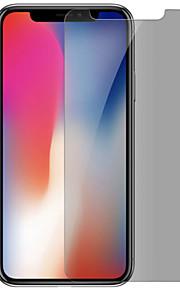 Screenprotector Apple voor iPhone X Gehard Glas 1 stuks Scherm Beschermer Privacy anti-inkijk Anti-vingerafdrukken Krasbestendig