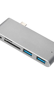 USB 3.1 Type C Adapter, USB 3.1 Type C to USB 3.0 USB 3.1 Type C Adapter Male - Female 10 Gbps