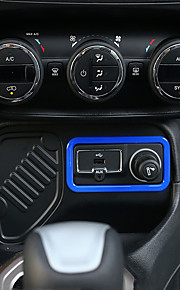 Automotive Ignition Switch Cover DIY Car Interiors For Jeep Renegade Plastic