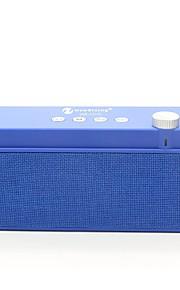 NR-2015 Bluetooth högtalare Bluetooth 2.1 USB TF-Kortplats Bokhyllehögtalare Svart Grå Brun Röd Blå