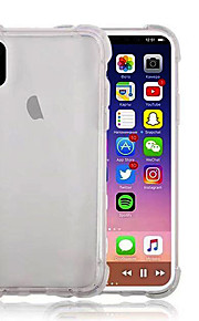 ケース 用途 Apple iPhone X iPhone 8 Plus 耐衝撃 クリア バックカバー 純色 ソフト TPU のために iPhone X iPhone 8 Plus iPhone 8 iPhone 7 Plus iPhone 7 iPhone 6s Plus