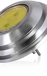 SENCART 1pc 2W 60 lm G4 LED-lamper med G-sokkel T 1 leds COB Dekorativ Varm hvit Kjølig hvit DC 12V