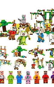 Building Blocks 478pcs Classic House Shaped Focus Toy Parent-Child Interaction Decompression Toys Floral Theme Toy All Toy Gift