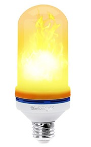 YouOKLight 1pc 4W 400 lm E26/E27 LED-kornpærer 99 leds SMD 2835 Dekorativ Varm hvit 85-265V