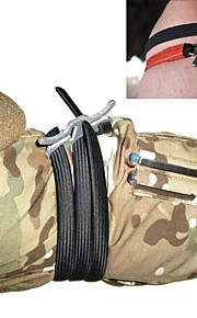 Tourniquet Climbing Camping / Hiking / Caving Traveling Elastic Quick Release First Aid Stainless Steel 430 2 pcs