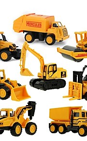 Mini Alloy engineering Car Truck Construction Truck Set Toy Truck Construction Vehicle Toy Car 1:64 Metal Alloy 8pcs Kid's Toy Gift