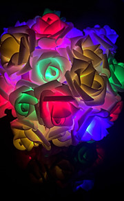 not-waterproof 40 leds multicolor decorative dc powered