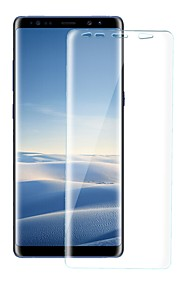 Protecteur d'écran Samsung Galaxy pour S8 TPU Hydrogel 1 pièce Ecran de Protection Avant Anti-Traces de Doigts Anti-Rayures Haute