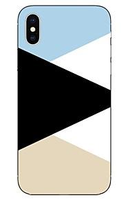 Etui Til Apple iPhone X iPhone 8 Mønster Bagcover Linjeret / bølget Blødt TPU for iPhone X iPhone 8 Plus iPhone 8 iPhone 7 Plus iPhone 7