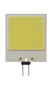 SENCART 1pc 10W 300lm lm G4 LED-lamper med G-sokkel T 48pcs leds COB Dekorativ Kjølig hvit 12V