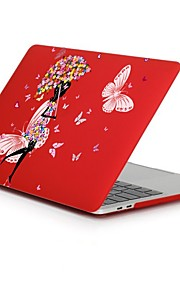 MacBook Etuis pour Romantique Femme Sexy Fleur Plastique MacBook Pro 13 pouces MacBook Pro 15 pouces MacBook Air 13 pouces MacBook Air 11