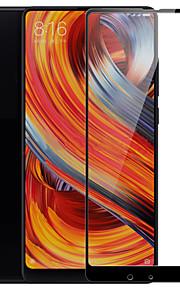Skärmskydd XIAOMI för Xiaomi Mi Mix 2S Härdat Glas 2 sts Heltäckande displayskydd Reptålig Explosionssäker 2,5 D böjd kant 9 H-hårdhet