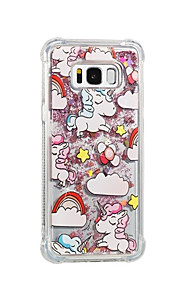 Case For Samsung Galaxy S8 Plus S8 Flowing Liquid Pattern Back Cover Unicorn Soft TPU for S8 Plus S8 S7 edge S7