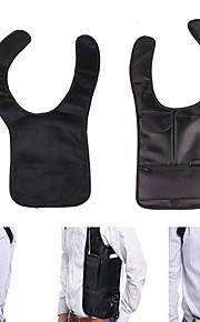Shoulder Bag Hiking Camping Travel Anatomic Design Anti-theft Lightweight Nylon Black