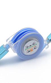 Micro USB Adaptateur de câble USB Charge rapide Câble Pour Samsung LG Nokia Lenovo Motorola HTC 100cm TPE