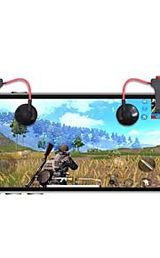 Trådløs Game Controllers Til Android / iOS Bærbar Game Controllers Metall 2pcs enhet