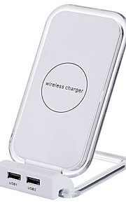Wireless Charger USB Charger Universal with Cable / Multi-Output / Wireless Charger 2 USB Ports 2 A DC 5V iPhone X / iPhone 8 Plus / iPhone 8