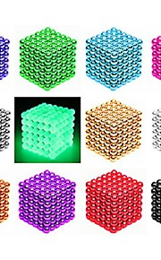 216/512 pcs 3mm / 5mm Magnet Toy Magnetic Balls Building Blocks Super Strong Rare-Earth Magnets Neodymium Magnet Stress and Anxiety Relief Office Desk Toys DIY Adults' / Children's Boys' Girls' Toy