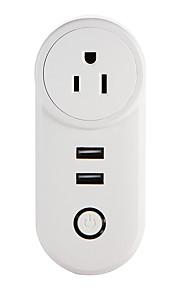 weto w-t04 us wifi smart plug dla inteligentnego domu zdalnego sterowania działa z gniazdem alexa google home timer dla ios android