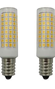 2pcs 5 W 460 lm E14 Bombillas LED de Mazorca 102 Cuentas LED SMD 2835 Decorativa Blanco Cálido / Blanco Fresco 110-130 V