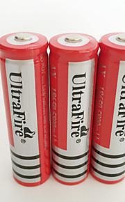 18650 batterie Batterie rechargeable lithium-ion 4200.0 mAh 4pcs Rechargeable pour Camping/Randonnée/Spéléologie