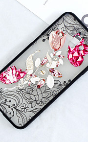 Case For Samsung Galaxy J5 (2017) / J3 (2017) Translucent / Pattern Back Cover Lace Printing / Flower Hard PC for J7 Prime / J7 (2017) / J7 (2018)