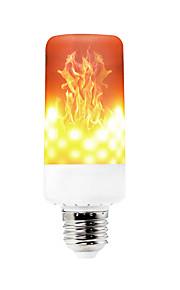 ywxlight® φλόγα κατεύθυνση πυρκαγιά επίδραση 3 στυλ 6w 550-600lm e14 e27 e12 b22 99 LED οδήγησε φώτα καλαμποκιού smd 3528 dimmable 85-265v