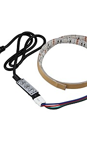 0.5m Set luci 15 LED SMD5050 1 x dimmer Colori primari Impermeabile / Feste / Adatto per veicoli 5 V 1 set