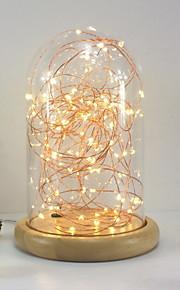 1pc LED Night Light Warm wit DC Powered Aanbiddelijk <=36 V