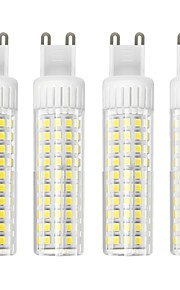 4pcs 8.5 W 1105 lm G9 Bombillas LED de Mazorca T 125 Cuentas LED SMD 2835 Regulable Blanco Cálido / Blanco Fresco 220 V
