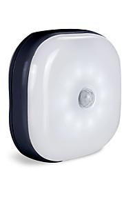 BRELONG® 1pc Luz de noche LED Pilas AAA alimentadas Sensor del cuerpo humano / Control de luz / Cambio automático <5 V