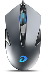 dareu lm113 ενσύρματο ποντίκι οπτικών παιχνιδιών USB 500/1000/2000/3000 dpi 4 ρυθμιζόμενα επίπεδα dpi 6 κουμπιά