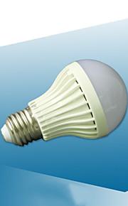 7 W LED Λάμπες Σφαίρα 410-510 lm E26 / E27 22 LED χάντρες Ενεργοποίηση Ήχου 220-240 V, 1pc