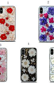 чехол для яблока iphone xr / iphone xs max противоударная задняя крышка цветок мягкий тпу для iphone 6 / iphone 6 plus / 7 / 7pius / 8 / 8pius / x / xs