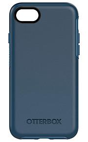 Кейс для Назначение Apple iPhone 8 / iPhone 7 Защита от пыли Кейс на заднюю панель Однотонный Мягкий ТПУ для iPhone 8 / iPhone 7