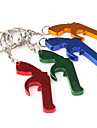 1Pc Portable Bottle Opener Keychain (Random Color) Kitchen Tools