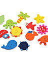 Colorful Ocean Life Theme Fridge Magnets (12-Pack)