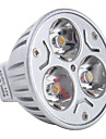 3000 lm GU5.3(MR16) LED Spotlight MR16 3 leds High Power LED Warm White DC 12V