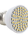 e26 / e27 светодиодный прожектор mr16 60 smd 3528 200lm теплый белый 2800k ac 220-240v